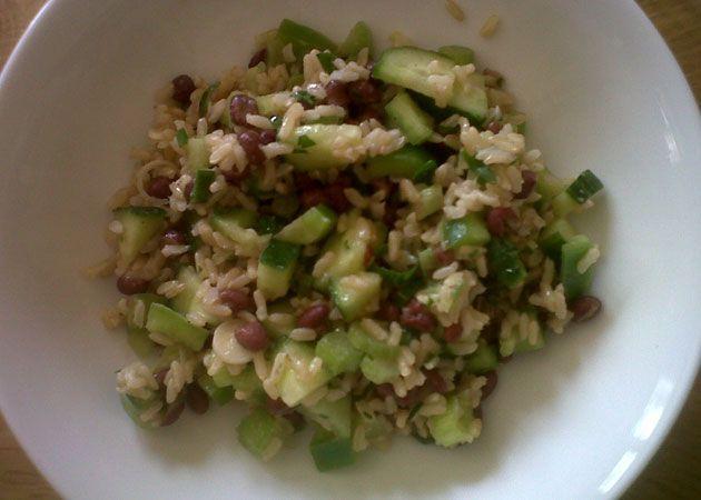 ... mix up an Adzuki Bean and Brown Rice Salad - Sweet Potato Chronicles