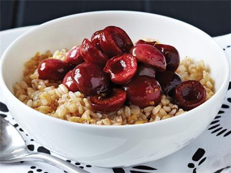 Cherry Breakfast Rice Bowls | Clean breakfasts for the Kids ...