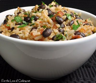 Mexican Tomato Rice and Beans: Adapted recipe and photos by For the ...