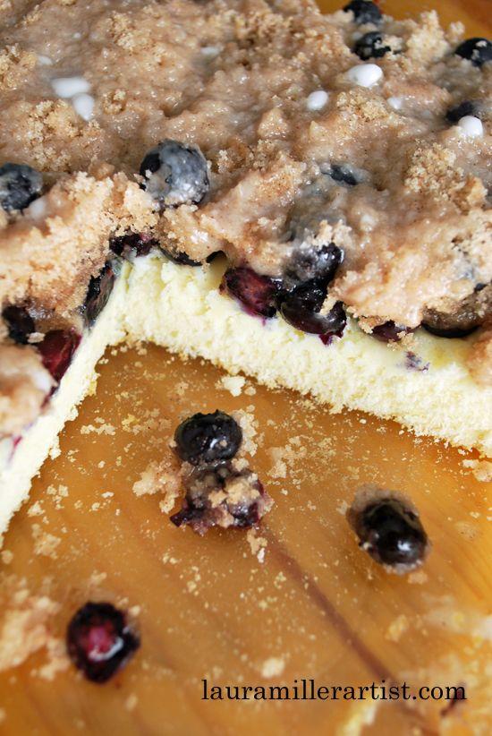 LIVIVIDLI LIFESTYLE BLOG: GLUTEN FREE BISQUICK BLUEBERRY COFFEE CAKE