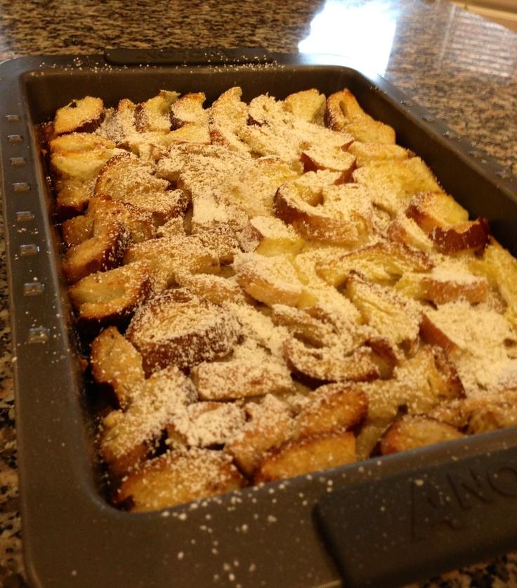 Overnight French Toast Bake. | Breakfast | Pinterest
