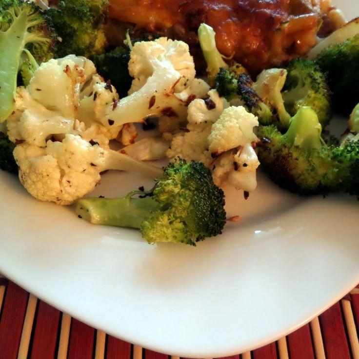 Cumined Cauliflower and Broccoli