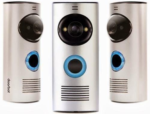 DOORBOT/ DOORBELL FOR SMARTPHONES/ IPHONE amp; ANDROID/ VOICEVIDEO/ HOME
