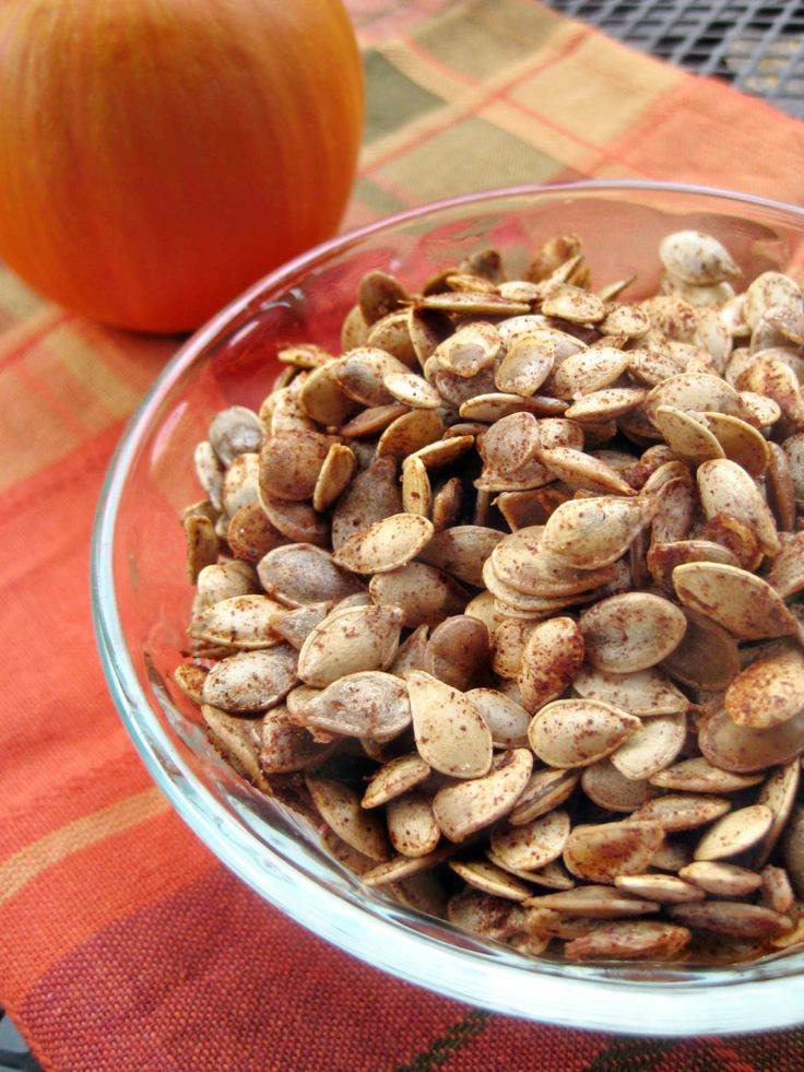 Roast your seeds! (not just for pumpkins!) Roasted Acorn Squash Seeds