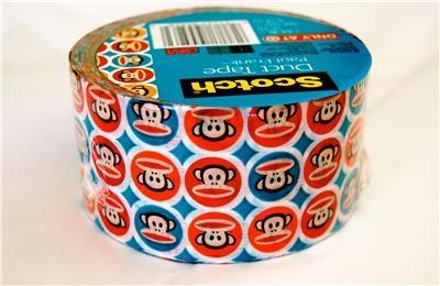 Sock monkey duct tape
