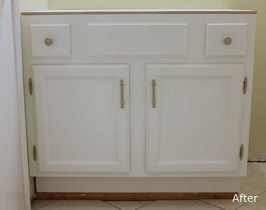 Bathroom Cabinet Redo  Newcomb Home Projects Pinterest