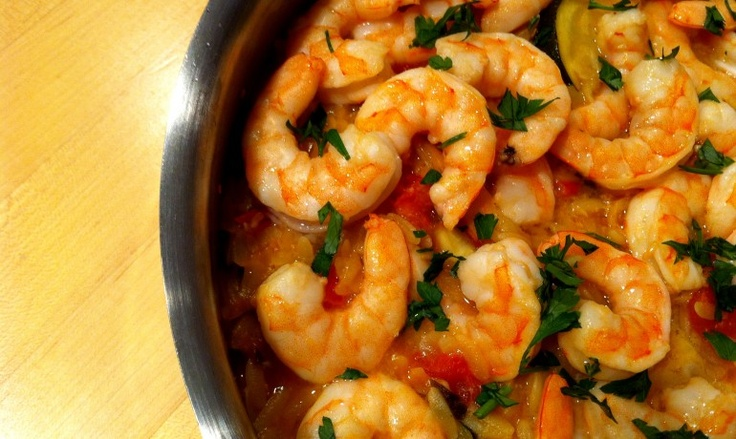 Skillet Shrimp and Orzo | Down the Gullet | Pinterest