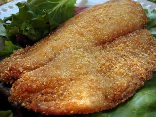 Bea 39 s fish coating for deep frying fish recipe for Best fish to deep fry