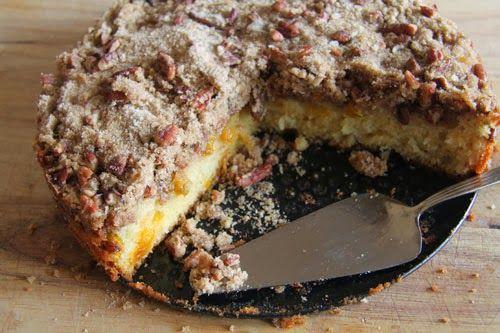 The 10 Minute Ground Cherry Coffee Cake Recipe — Dishmaps