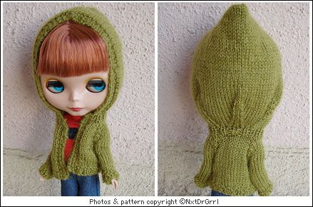 BLYTHE DOLL FREE KNITTING PATTERNS - VERY SIMPLE FREE KNITTING PATTERNS