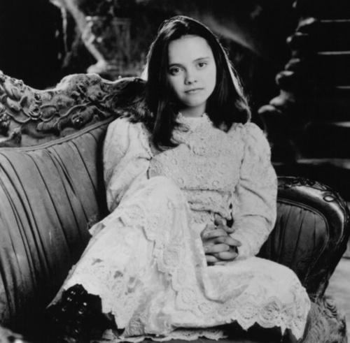 Christina Ricci. I will forever hate her for being able to kiss Devon Sawa. =D