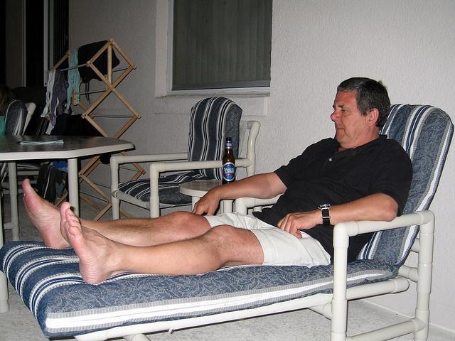 Barefoot Mature Men
