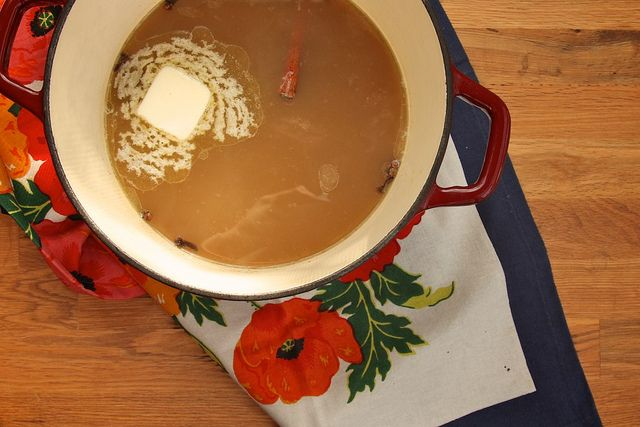 hot buttered rum and cider by joy the baker http://joythebaker.com ...