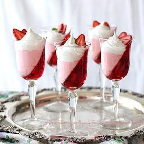 Strawberry jello parfait   Food & Drink   Pinterest