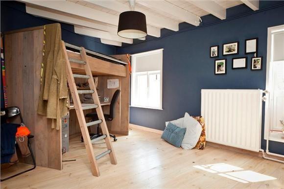 Mooi kleur blauw voor in de slaapkamer!  Ideeën voor het huis  Pint ...