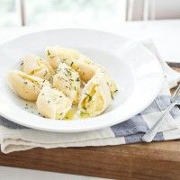 Roasted Acorn Squash Stuffed Shells | Recipe