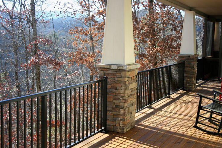 Westbury aluminum railing lookup beforebuying
