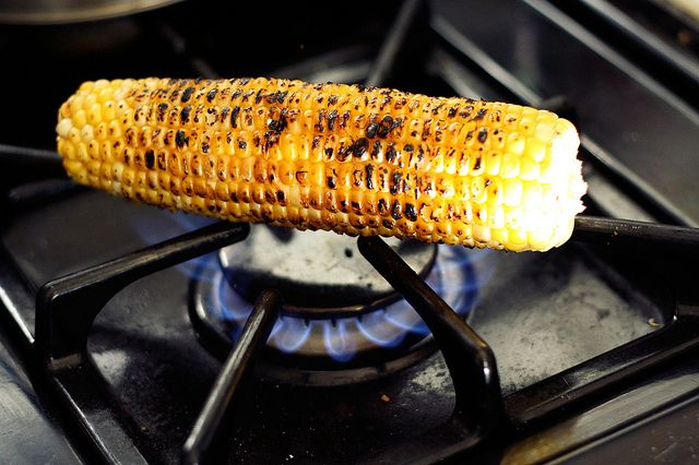 grilled corn | Happy Food | Pinterest