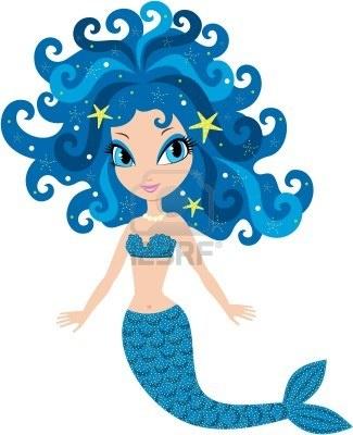 Sirena de dibujos animados Foto de archivo - 13238925