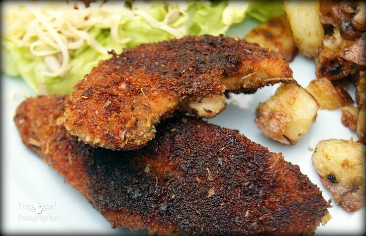 Dijon-Crusted Chicken Breasts | Food | Pinterest