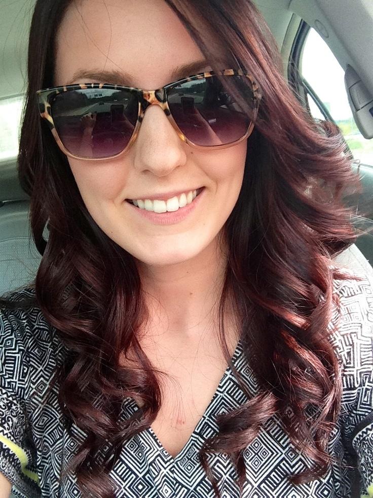 Mahogany hair color | Hair | Pinterest