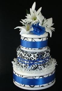 Diaper cake by Tamika Valentine