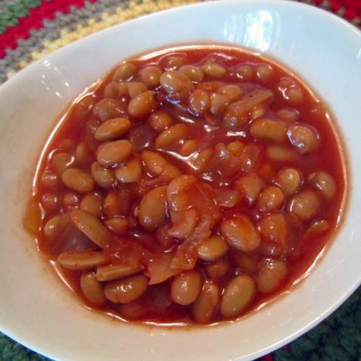 Maple Baked Beans (Crockpot) Recipe | Recipes | Pinterest