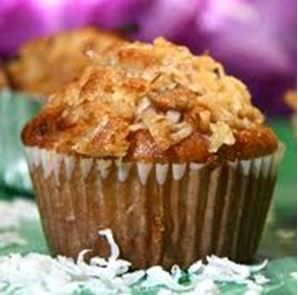 Gluten-Free Recipe - Sugar Free Pineapple Coconut Crumb Muffins // The ...