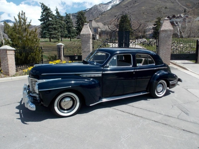 1941 buick 50 super 8 touring sedan antique cars buick for 1941 buick 4 door sedan