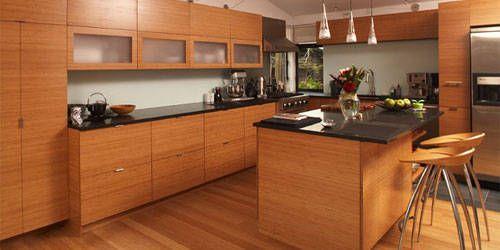 bamboo kitchen cabinets kitchen pinterest
