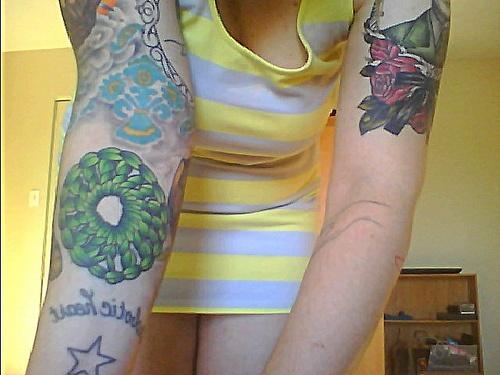 Crocheting Tattoos : Crochet in the round tattoo Tattoo Pinterest