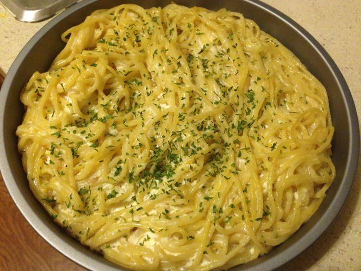 Baked lemon pasta | Food experiments | Pinterest