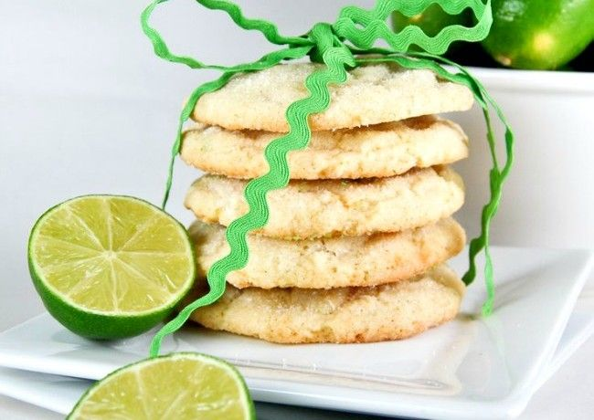 Gonna Want Seconds - Chewy Coconut-Lime Sugar Cookies