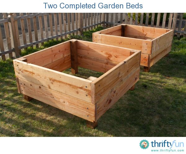 We were able to put these two 4 foot square raised garden beds together this weekend. It was an easy project for the kids to help with; and they will be able to plant whatever they want in them this spring.