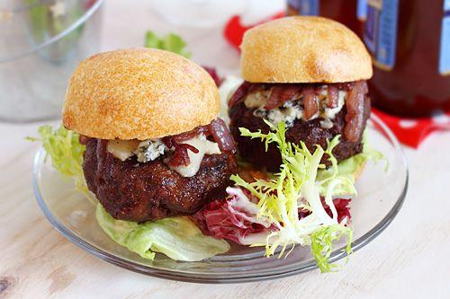 Cabernet and Gorgonzola Burger Sliders ... I, of course, probably won ...