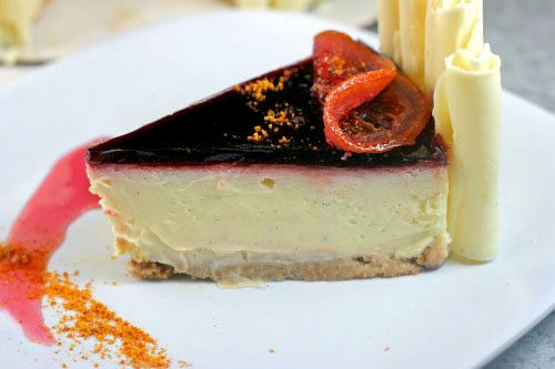 ... Blood Orange Cheesecake Mousse Parfaits with Salted Cashew-Ginger