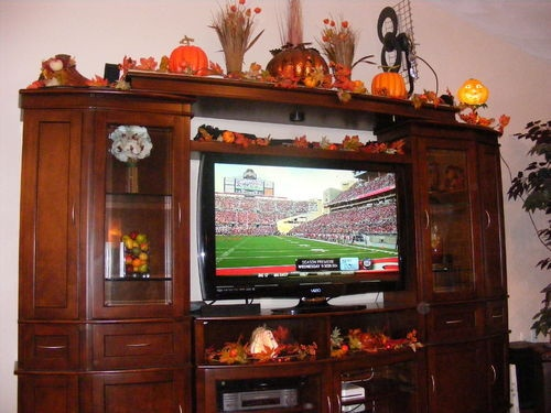 entertainment center decorating my dream house pinterest. Black Bedroom Furniture Sets. Home Design Ideas