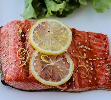 Grilled Lemonade Salmon | Favorite Recipes | Pinterest