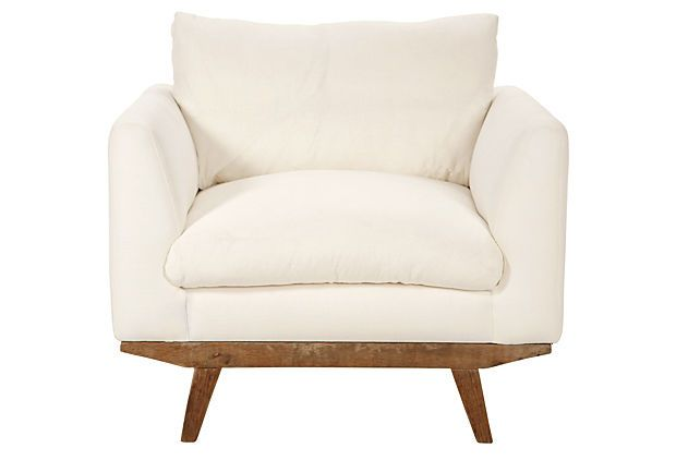 Carmel Linen Chair,