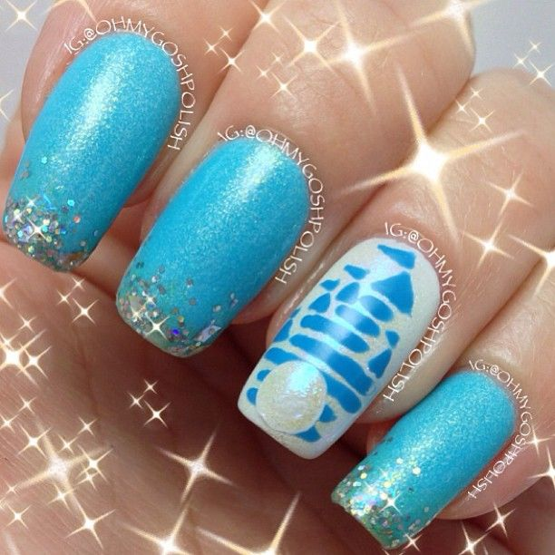 Disney World Nails | My Style Pinboard | Pinterest