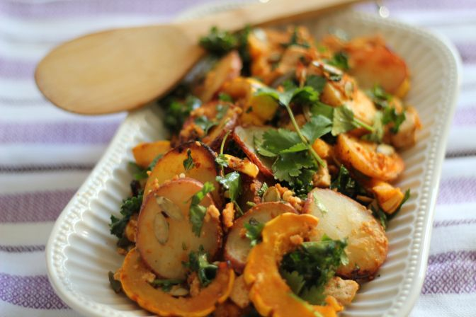 Miso Harissa Delicata Squash Recipes — Dishmaps