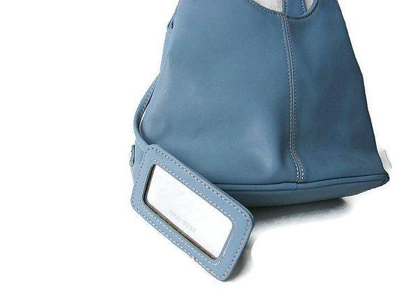 Nine West vintage handbag. Baby blue mini purse. by Timeagain, 16.00
