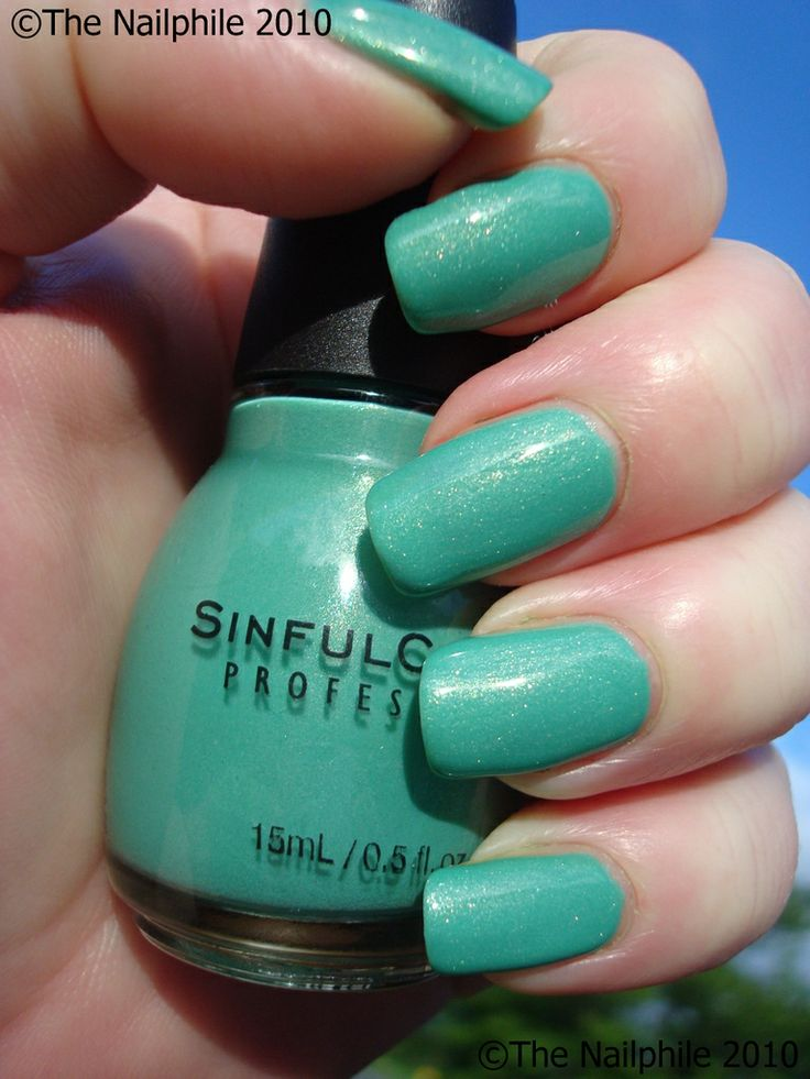 sinful colors -mint apple