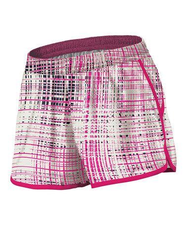 Frost & Pomegranate Versatile Mid-Rise Shorts - Women