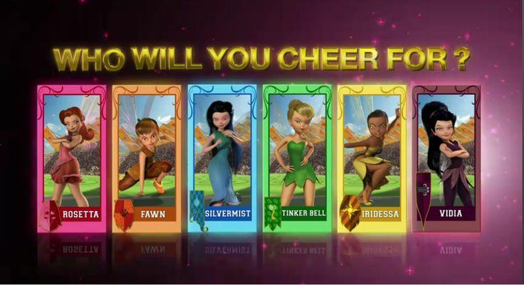 TinkerBell and the Pixie Hollow Games,Fairies,Disney,Disney Fairies ...