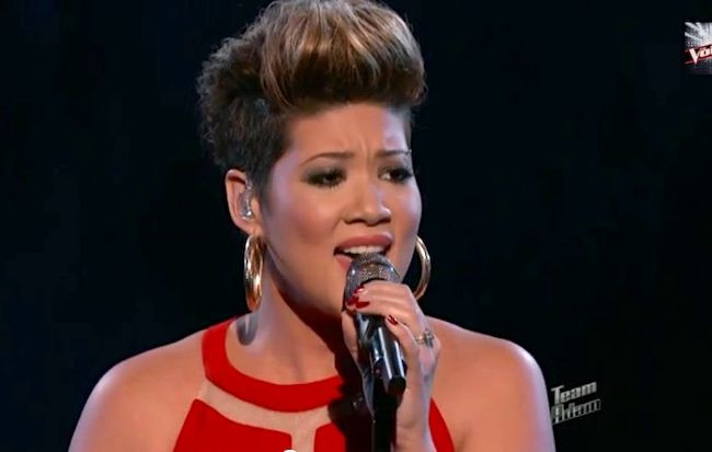 tessanne chin hairstyle | The Voice Tessanne Chins Hair Cut | Short ...