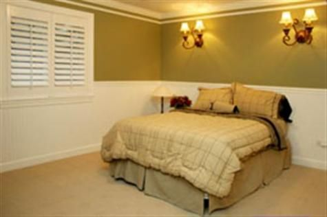 Basement bedroom ideas basement makeover pinterest for Basement bedroom ideas no windows