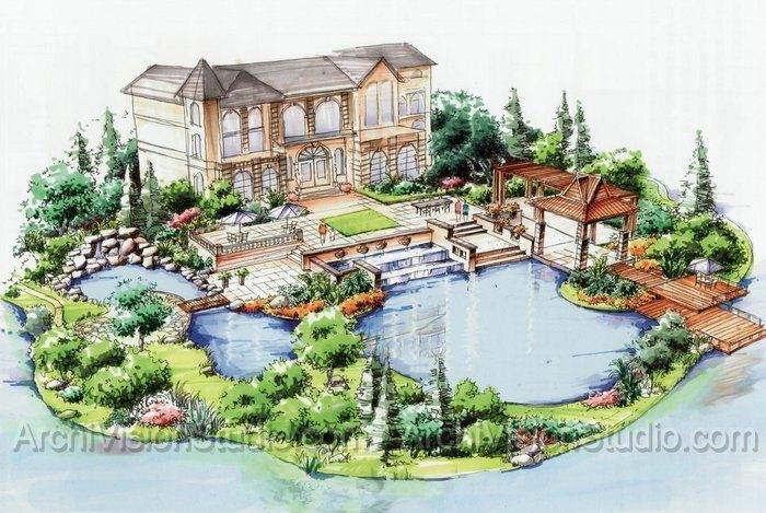 Creative landscape design garden project pinterest for Creative landscape design