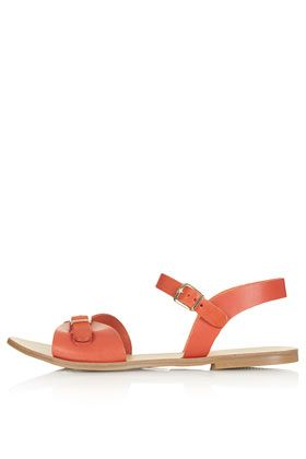 Topshop HELTER Two Part Geek Sandals - Flats - Shoes