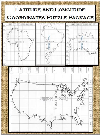 latitude and longitude practice pdf